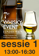 8e Whisky Event 28 september 2019 Sessie 13:00 - 16:30
