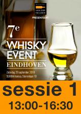 9e Whisky Event 25 september 2021 Sessie 13:00 - 16:30