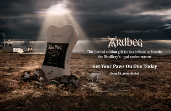 Ardbeg Ten Years Bone Giftpack