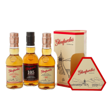 Glenfarclas Miniature Gift Pack 10, 12 Year Old & 105