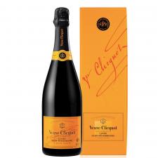 Veuve Clicquot Brut met geschenkverpakking
