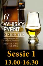 Whisky Event 30 september sessie 1      UITVERKOCHT