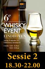 Whisky Event 30 september sessie 2  UITVERKOCHT