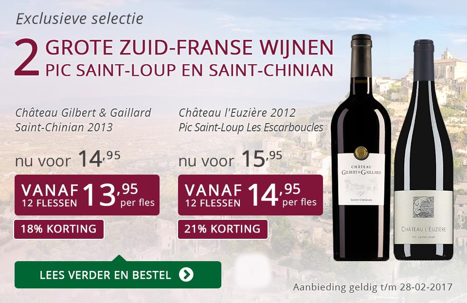 Exclusieve wijnen februari 2017 - paars