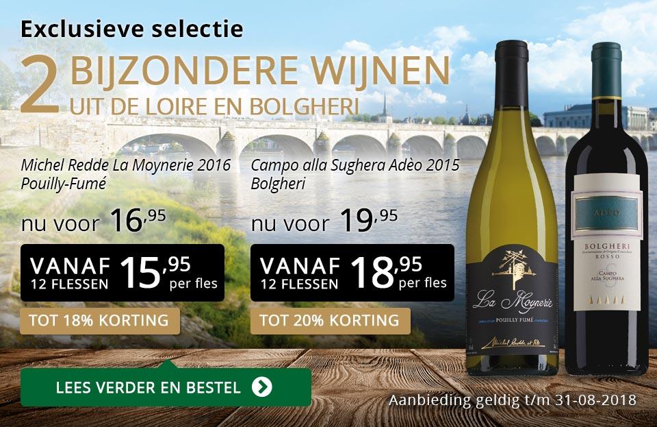 Exclusieve wijnen augustus 2018 - goud/zwart