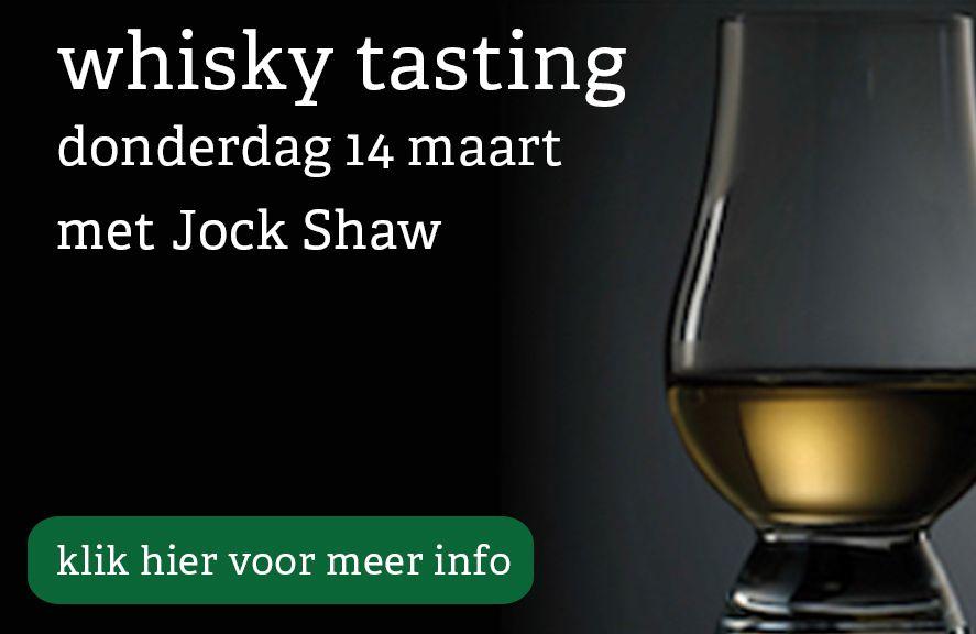 Whisky tasting 14 maart