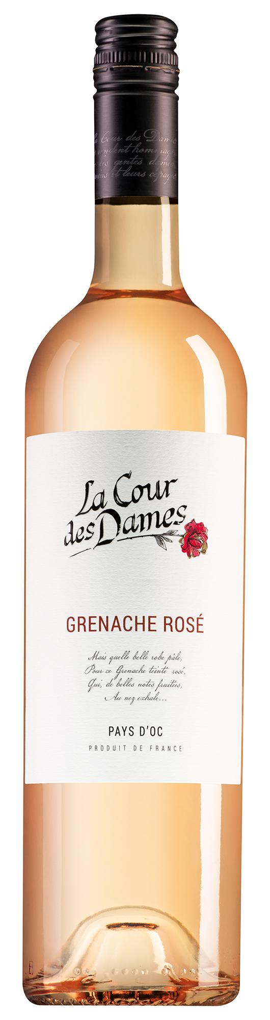 La Cour des Dames Pays d'Oc Grenache Rosé
