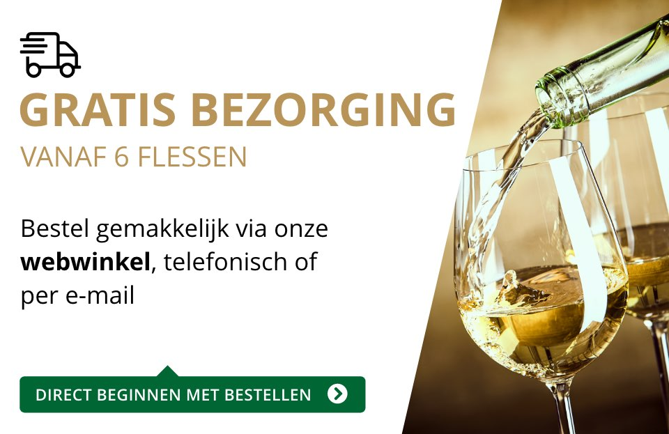 Gratis bezorging (6 flessen) - goud/zwart