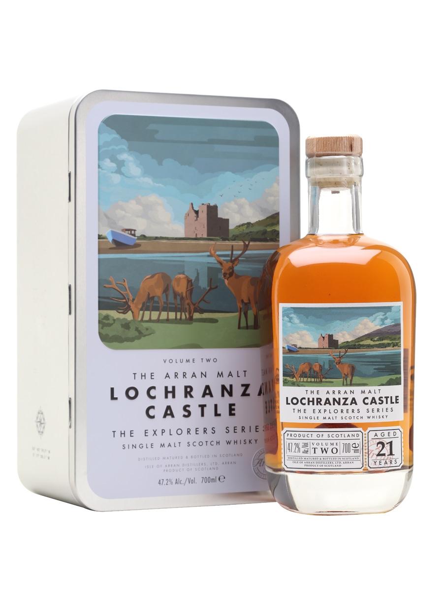 Arran Whisky Lochranza Castle limited edition 2e release