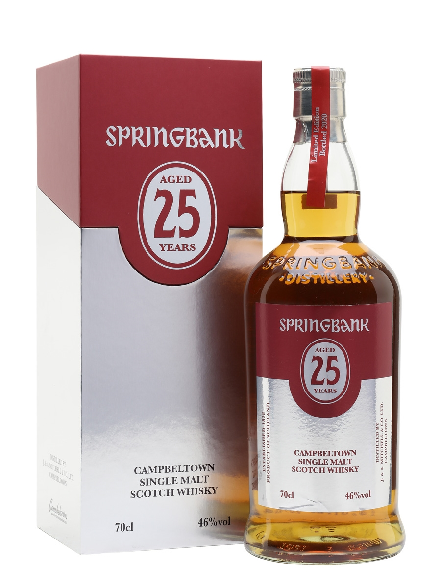 Springbank 25 years