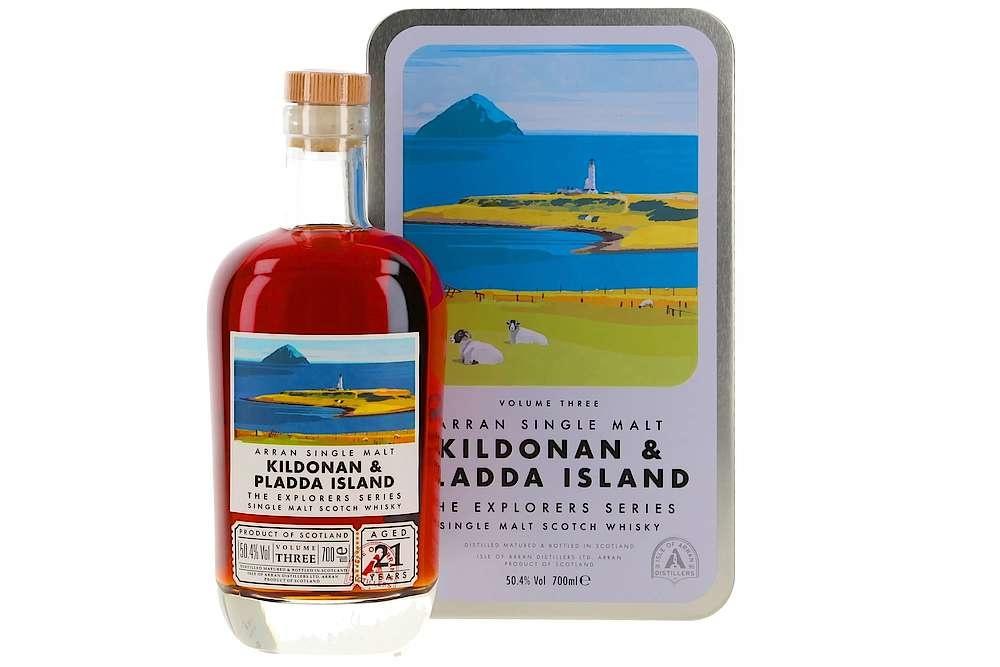 Arran  Kildonan & Pladda  Island   limited edition