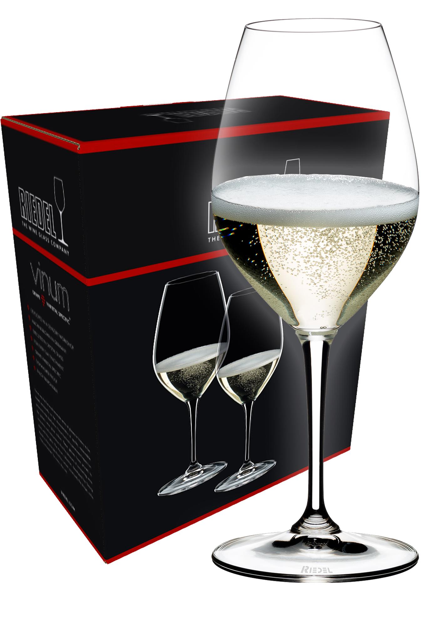 Riedel Vinum Champagne wijnglas (set van 2 voor € 44,90)
