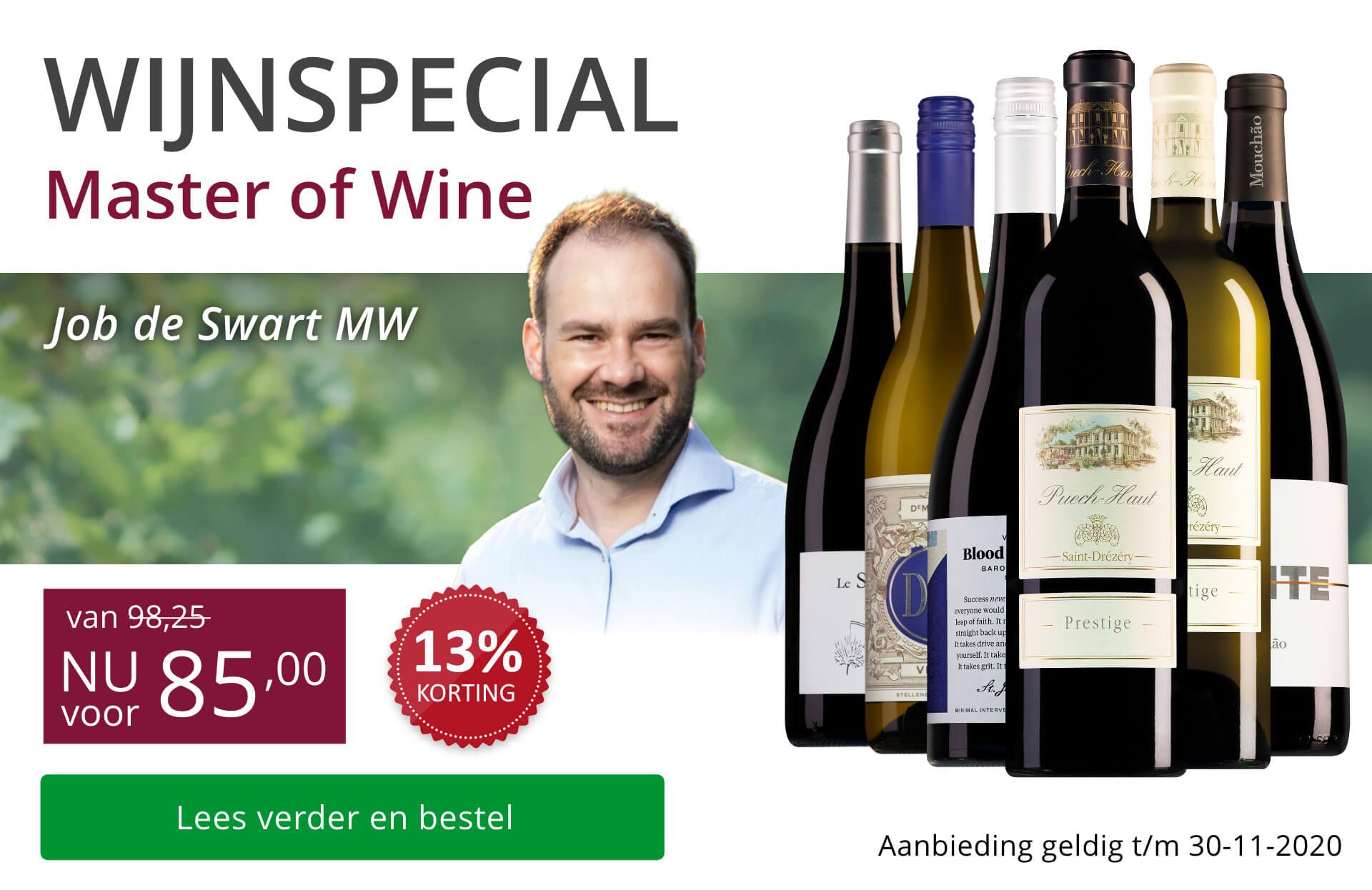 Wijnspecial Master of Wine-selectie - paars