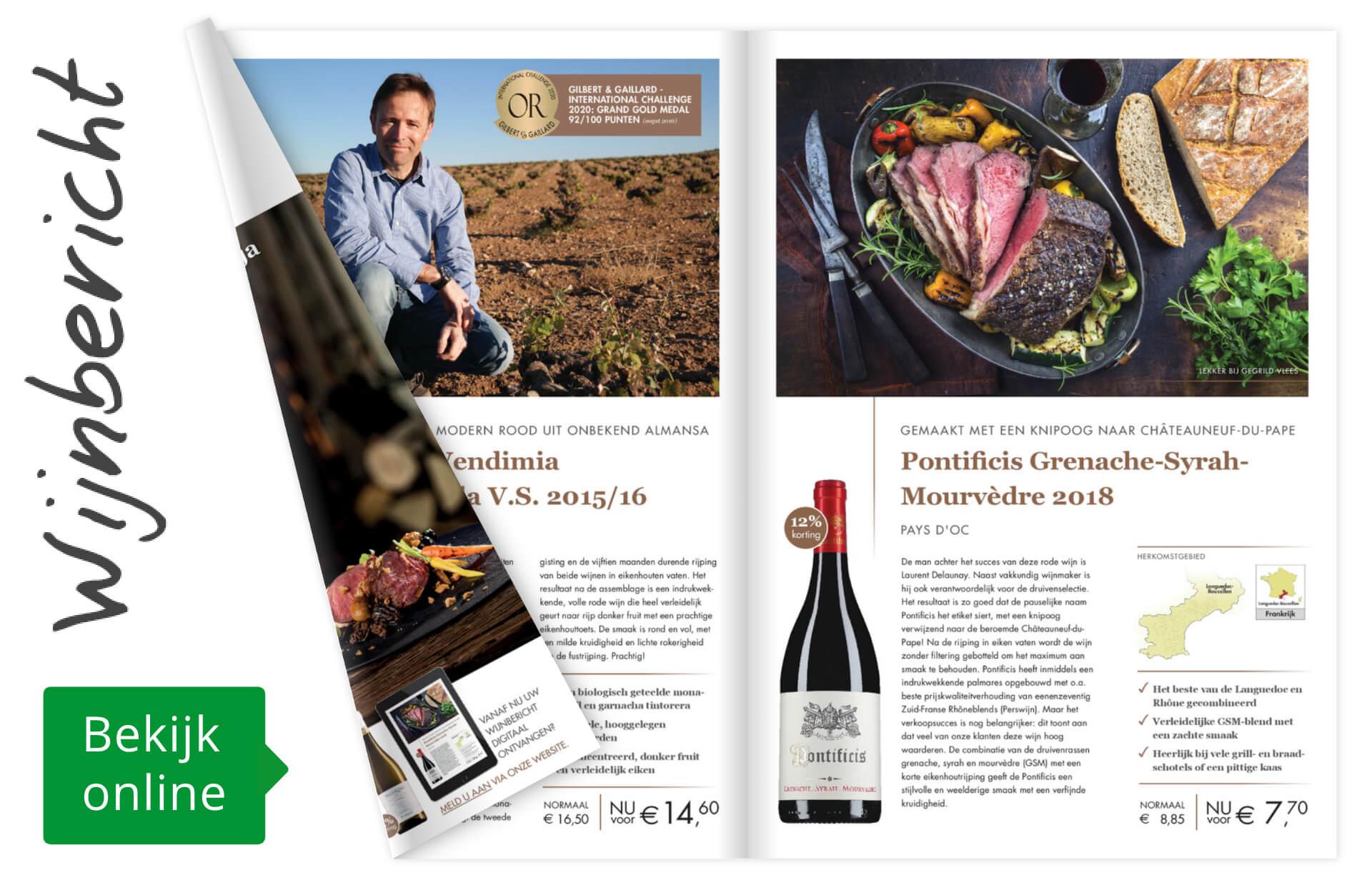 Online wijnbericht november 2020